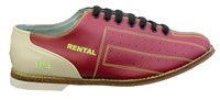 BSI Mens Leather Cosmic Rental Shoe Bowling Shoes