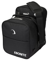 Ebonite Compact Single Black Bowling Bags