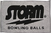 Storm Signature Towel Black/Grey