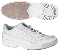 BSI Basic Mens White Bowling Shoes