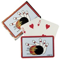 Bowling Poker Card Set
