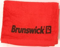 Brunswick Solid Cotton Towel Red