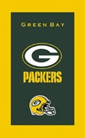 KR NFL Towel Green Bay Packers