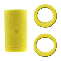 Turbo Grips Quad2 Yellow Inserts