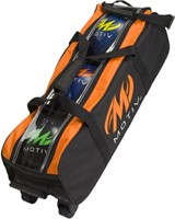 Motiv Clear-View Triple Roller Black/Orange