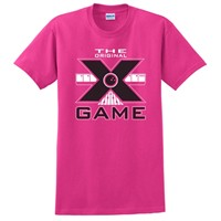Exclusive bowling.com Original X Game TShirt Pink