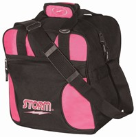 Storm Solo Single Tote Black/Pink