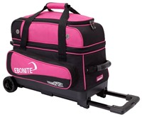 Ebonite Transport Double Roller Black/Pink Bowling Bags