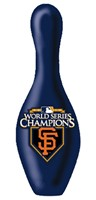OTBB MLB World Series Champs Giants Blue Pin