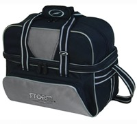 Storm 2 Ball Deluxe Tote Black/Silver