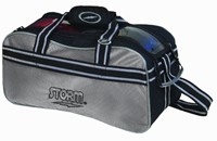 Storm 2 Ball Tote Silver/Black Bowling Bags