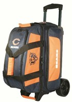 KR NFL 2 Ball Roller Chicago Bears Bowling Bags
