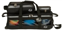 Linds Triple Tote Plus Roller Black/Silver