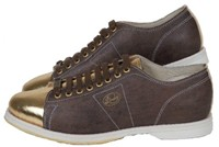Linds Mens Classic SE Brown/Gold Left Hand