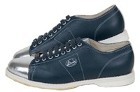 Linds Mens Classic SE Navy/Silver Left Hand Bowling Shoes