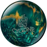 Ebonite Cyclone Green/Gold/Silver