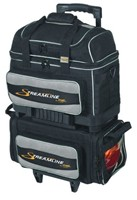 Storm Streamline 4 Ball Roller Black/Silver Bowling Bags