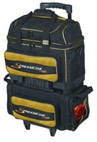 Storm Streamline 4 Ball Roller Black/Gold Bowling Bags