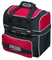 Storm 1 Ball Flip Tote Black/Red Bowling Bags