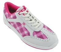 Brunswick Womens Pink Plaid
