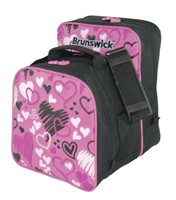 Brunswick Image Single Tote Hearts All Over