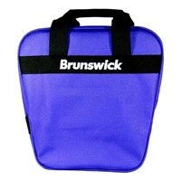 Brunswick Keystone Single Tote Purple Bowling Bags