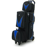 Elite Deluxe 3-4-5 Option Roller Blue/Black Bowling Bags