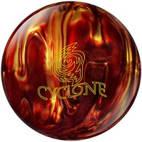 Ebonite Cyclone Fireball Red/Gold Bowling Balls