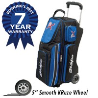KR Royal Flush Triple Roller Bowling Bags