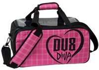 DV8 Diva Double Tote Bowling Bags