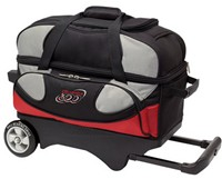Columbia Pro Series 2 Ball Roller Red/Silver/Black Bowling Bags