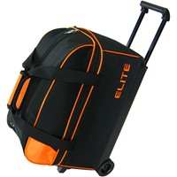 Elite Basic Double Roller Orange Bowling Bags