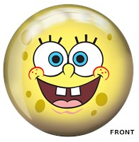 Brunswick Sponge Bob Yellow Viz-A-Ball