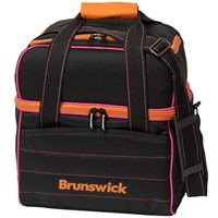 Brunswick Kooler C Single Tote Black/Pink/Orange