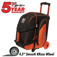 KR Cruiser Smooth Double Roller Orange/Black