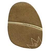 Brunswick SP-2 Brown Suede Slide Pad