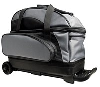 Classic Double Roller Black/Charcoal Bowling Bags