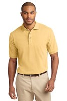 Port Authority Mens Pique Knit Sport Yellow