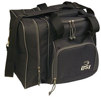 BSI Deluxe Single Tote Black Bowling Bags