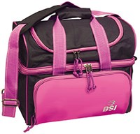 BSI Taxi Single Tote Black/Pink Bowling Bags