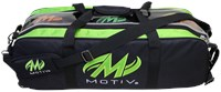 Motiv Clear-View Triple Roller Black/Green