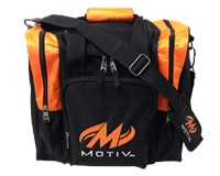 Motiv Ascent Single Tote Black/Orange