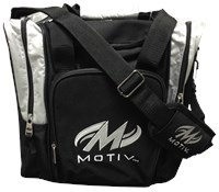 Motiv Ascent Single Tote Black/Silver