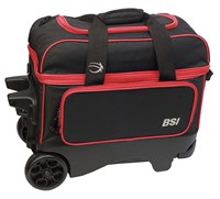 BSI Large Wheel Double Roller Black/Red