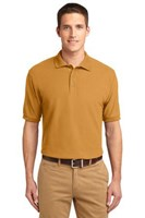 Port Authority Mens Silk Touch Polo Shirt Gold