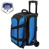 Ebonite Transport II Double Roller Blue Bowling Bags