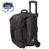 Ebonite Transport II Double Roller Black Bowling Bags