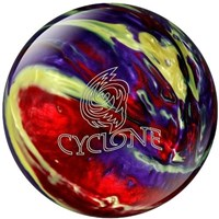 Ebonite Cyclone Red/Purple/Yellow X-OUT