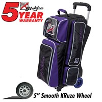 KR Grape KRush Triple Roller Bowling Bags