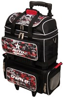 Roto Grip 4 Ball Roller Black/Red Camo Bowling Bags